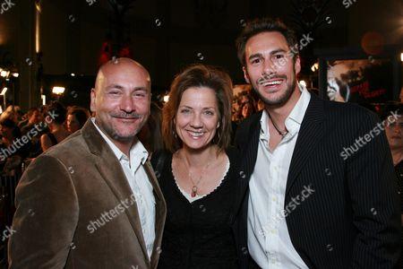 Gianni Nunnari,  Dawn Taubin and Craig Flores