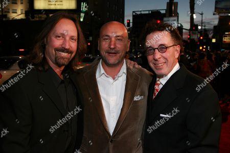 Producers Scott Mednick, Gianni Nunnari and Mark Canton