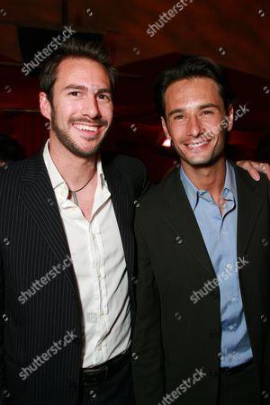 Craig Flores and Rodrigo Santoro