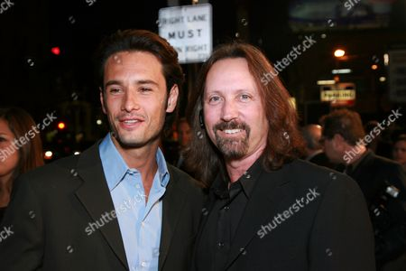 Rodrigo Santoro and Executive Producer Scott Mednick