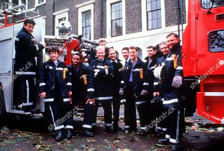 'London's Burning' - Glen Murphy, Katherine Rogers, Treva Etienne, Rupert baker, Sean Blowers, Richard Walsh, Mark, Arden, Ross Boatman, Gerard Horan, James Hazeldine and James Marcus
