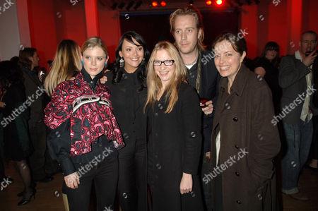 Stock Photo of Emilia Fox, Martine McCutcheon, Natalie Press, Rhys Ifans and Greta Scacchi