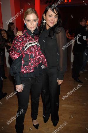 Emilia Fox and Martine McCutcheon
