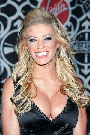 Editorial image of Ashley Massaro promoting the new issue of 'Playboy', Virgin Megastore, Times Square, New York, America - 08 Mar 2007