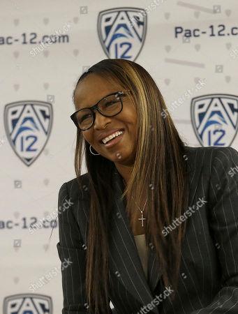 Editorial photo of Pac-12 Media Day Basketball, San Francisco, USA - 20 Oct 2016