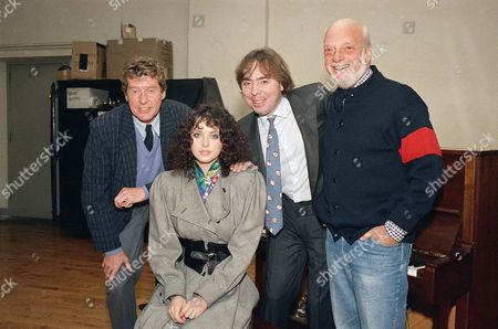 Harold Prince, Michael Crawford Phantoms are creatures which can be sensed, but with no substantial existence, unlike stars Michael Crawford, left, and Sarah Brightman, who with Andrew Lloyd Webber and director Harold Prince, begin rehearsal of Webber?s new musical ?The Phantom of the Opera? in New York on . The musical opens January 26 at the Majestic Theatre