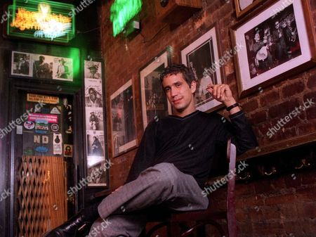 """Stock Image of A.J. CROCE Musician A.J. Croce, 26, poses at a New York nightclub . A.J., the son of the late Jim Croce, has a new CD, the bluesy """"Fit to Serve"""