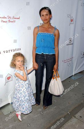 Amanda Luttrell Garrigus and daughter Sophie