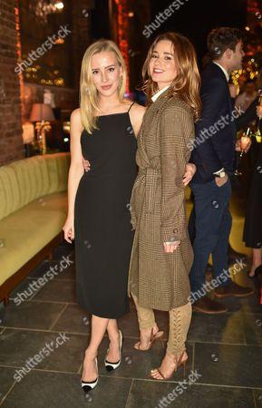 Sarah Mikaela and Kelly Eastwood wearing Ralph Lauren
