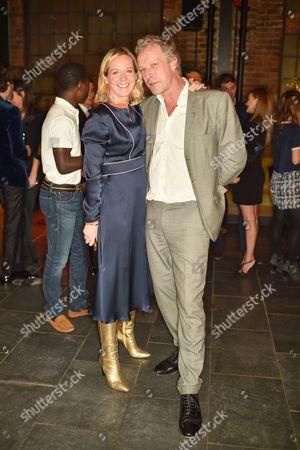 Kate Reardon and Hugo Burnand