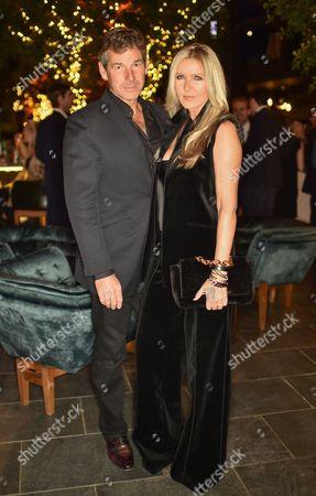 Hugh Morrison and Amanda Wakeley wearing Ralph Lauren
