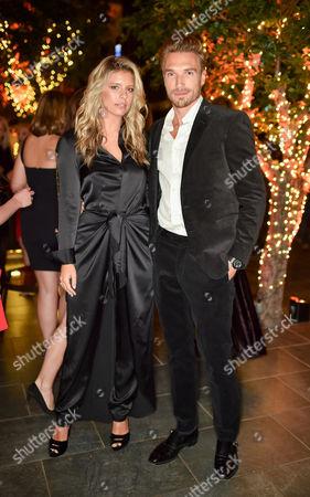 Natasha Oakley and Gilles Souteyrand wearing Ralph Lauren