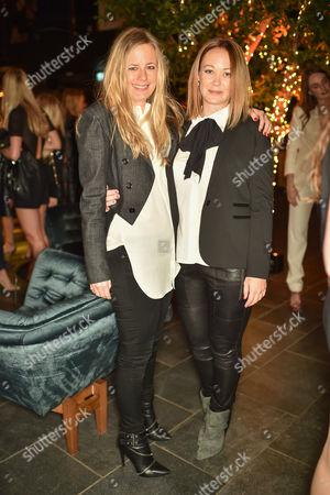 Astrid Harbord wearing Ralph Lauren and Ellie Sheppard