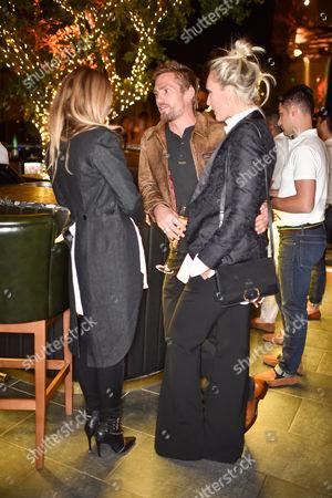 Astrid Harbord, Jacobi Anstruther-Gough-Calthorpe and Olivia Buckingham wearing Ralph Lauren