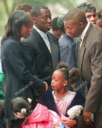 Editorial picture of GRIFFITH JOYNER FUNERAL, LAKE FOREST, USA