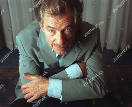 """MCKELLEN Actor Ian McKellan, star of the film """"God's and Monsters,"""" poses in New York, . While the theater will always be his first love, the foremost classical stage actor of his generation is embracing the 20th century's highest-profile acting medium, film, with two movies at cineplexes now and another about to be released"""