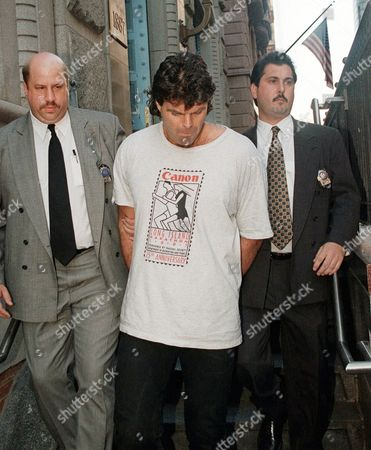 Mark Gastineau Former New York Jets lineman Mark Gastineau, center, is walked out of New York's 19th Precinct after surrendering to face charges of violating a court order to stay away from a woman he is accused of hitting. For most Americans media coverage of the accused leaving New York police precincts isn't unusual but some French politicians and citizens were disturbed this week when a rumpled, handcuffed, angry-looking Dominique Strauss-Kahn was shown being escorted by police after being accused of sexual abuse