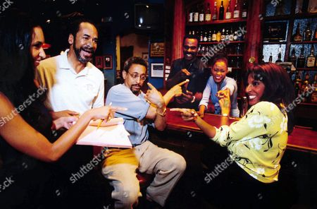 "GREER Co-creator and Executive Producer Susan Hales-Hill, left, laughes along with the cast of ""Linc's"", a new situation comedy ""New Millennium Studios"" is creating for Showtime which debutes . From left, Tim Reid, director, Gregory Hines, Steven Williams, Golden Brooks and Pam Greer. Photo taken Wednesday, July 29, 1998, in Petersburg, Va"
