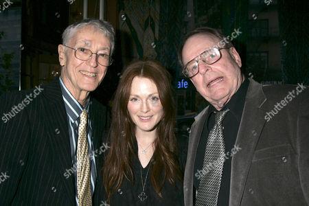Stock Picture of Farley Granger, Julianne Moore and Bob Calhoun