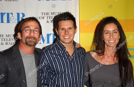 Jim Hayman, Silvio Horta and Teri Weinberg