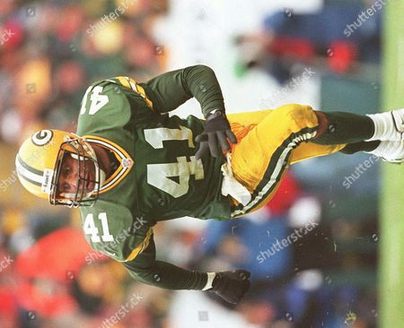 ROBINSON Green Bay Packers safety Eugene Robinson in action in the NFC Divisional playoff game against Tampa Bay in Green Bay, Wisc