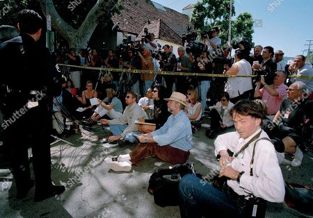Anthony Alba Los Angeles Police Lt. Anthony Alba, hidden at left, speaks to the media assembled outside the home of actor and comedian Phil Hartman in the Encino section of Los Angeles, Calf., . Hartman, an alumnus of Saturday Night Live and actor on NBC's News Radio, and his wife were found dead in their home. Police officers responding to a 911 call were removing two children from the home when Hartman's wife, Brynn, 40, killed herself in another part of the house, Lt. Alba said