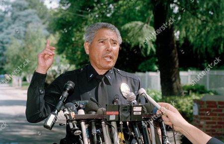 Anthony Alba Los Angeles Police Lt. Anthony Alba speaks to the media assembled outside the home of actor and comedian Phil Hartman in the Encino section of Los Angeles, Calf., . Hartman, an alumnus of Saturday Night Live and actor on NBC's News Radio, and his wife were found dead in their home. Police officers responding to a 911 call were removing two children from the home when Hartman's wife, Brynn, 40, killed herself in another part of the house, Lt. Alba said