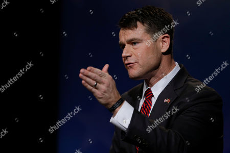 Todd Young Republican Todd Young participates in debate for Indiana's open U.S. Senate seat in Indianapolis, . Democrat Evan Bayh and Libertarian Lucy Brenton also participated in the debate