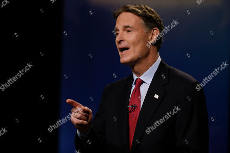 Evan Bayh Democrat Evan Bayh participates in debate for Indiana's open U.S. Senate seat in Indianapolis, . Republican Todd Young and Libertarian Lucy Brenton also participated in the debate