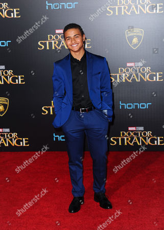 Editorial image of 'Doctor Strange' film premiere, Los Angeles, USA - 20 Oct 2016