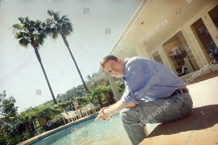 Davis Gaines Actor Davis Gaines poses in the back patio of his Hollywood Hills home in Los Angeles on