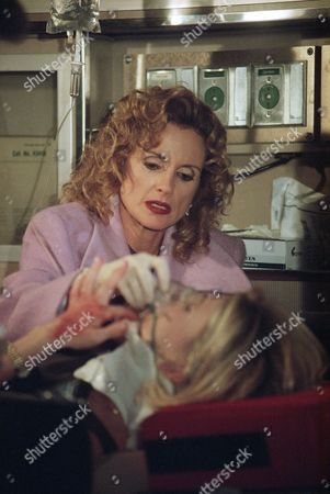 """Jacklyn Zeman Jacklyn Zeman, who portrays nurse Bobie on ABC's """"General Hospital,"""" attends to a patient in an ambulance during taping of """"GH's"""" first prime-time special in Los Angeles, . """"GH"""" has undergone resurgence, and now is ABC's highest-rated daytime soap"""