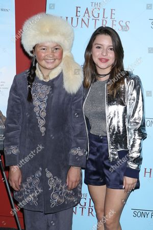 Aisholpan Nurgaiv and Fatima Ptacek