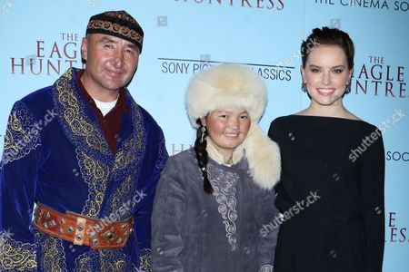 Editorial picture of 'The Eagle Huntress' film screening, New York, USA - 20 Oct 2016