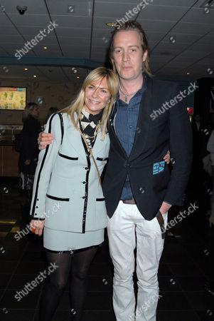 Jacqui Hamilton-Smith and Rhys Ifans