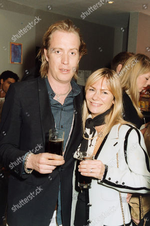 Rhys Ifans and Jacqui Hamilton-Smith