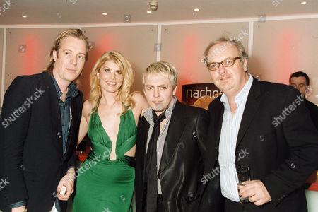 Rhys Ifans, Meredith Ostrom, Nick Rhodes and George Hickenlooper