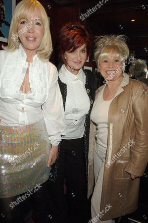 Sally Green, Sharon Osbourne and Barbara Windsor