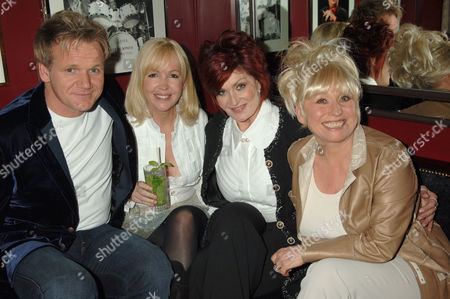 Gordon Ramsay, Sally Green, Sharon Osbourne and Barbara Windsor