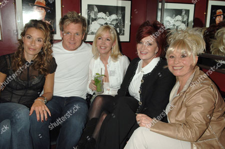 Tana Ramsay, Gordon Ramsay, Sally Green, Sharon Osbourne and Barbara Windsor