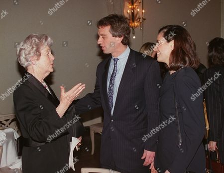 Deborah Duchess Of Devonshire, Robert Kennedy Jr, Mary Richardson Kennedy A photo from files showing Deborah, Duchess of Devonshire, left, talking with Robert Kennedy Jr., center, and his wife Mary Richardson Kennedy, at a benefit for the Royal Oak Foundation, an affiliate of the National Trust of England, Wales and Northern Ireland, in New York. The last of the famous Mitford sisters, the Dowager Duchess of Devonshire, has died at the age of 94, her son has said, Wednesday, Sept. 24, 2014
