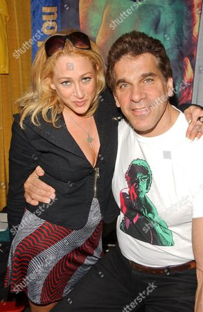Jennifer Blanc and Lou Ferrigno