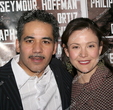 John Ortiz and Reiko Aylesworth