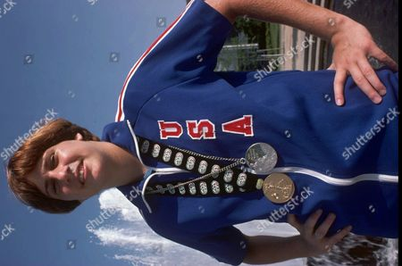 NANCY LIEBERMAN-CLINE Wearing her 1976 Olympic silver medal and her 1977 Kunior Pan-American Games gold medal