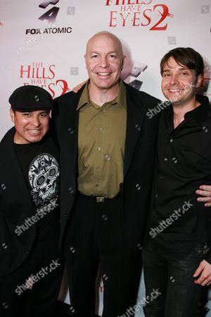 Jacob Vargas, Michael Bailey Smith and Michael McMilliam