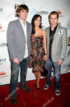 Jonathan Bennett, April Scott and Randy Wayne