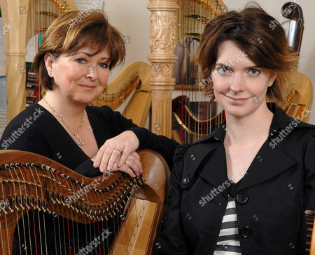 Cardiff is to host the 7th European Harp Symposium and in its 21 year history, this is the first visit to Britain. The event based at the Wales Millennium Centre in Cardiff Bay will showcase national and international talent. World renowned harpist Caryl Thomas (left) with Catrin Finch (past harpist to the Prince of Wales).