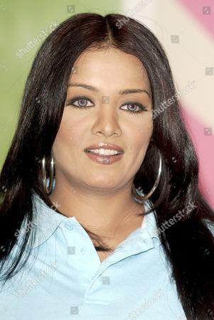 Bollywood Indian actress Celina Jaitley