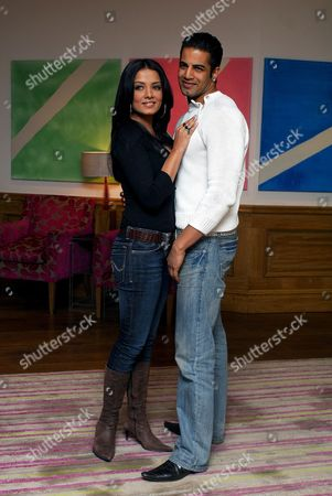 Bollywood Indian actress Celina Jaitley and British born Indian actor Upen Patel
