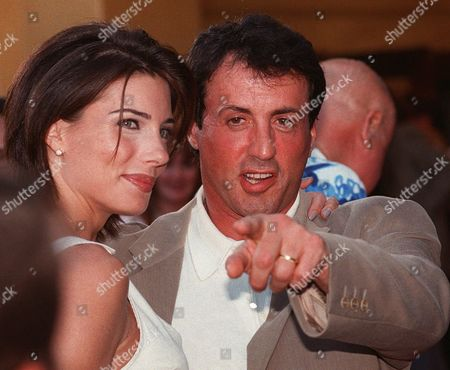"STALLONE FLAVIN Actor Sylvester Stallone and wife Jennifer Flavin pose together at the world premiere of the film ""Contact, last July. Stallone said in a statement released, by his publicist Paul Bloch, that his wife Jennifer Flavin had a miscarriage last month. ''Both of us are incredibly saddened by this terrible event and our hearts go out to all others who have experienced this tragic situation,"" said Stallone"
